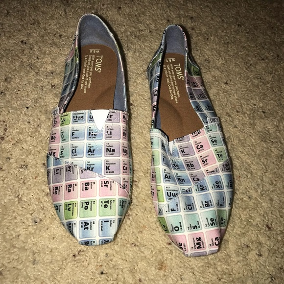 Toms Shoes Periodic Table Classic Poshmark